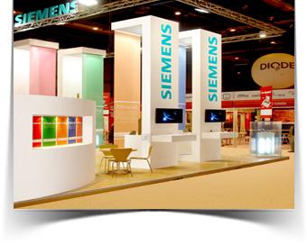 Fabricación de stand para Siemens